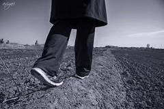 Walking on the Rim (A.Sigari) Tags: field walking rim