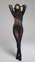 Desert nymph (piotr_szymanek) Tags: maja portrait session studio huśtawka woman girl legs lingerie young skinny fashion stockings highheels 1k majam 5k
