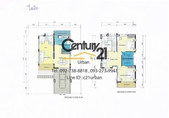 [C21U00139] House for sale in 52 sqwa with 2 bedrooms 3 restroom at Baan I Rak, Chiangmai