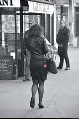 La femme au petit coeur rose - Woman with the little pink heart, Paris. (Olivier Simard Photographie) Tags: pink woman black paris sexy stockings girl leather rose seine cutout noir îledefrance dress heart legs femme coeur sensuality miniskirt fille sophisticated jambes regard elegance candidshot désir parisienne élégance cuir rêve sensuelle féminine séduction sensualité scènederue escarpin féminité placedelanation seamedstockings minijupe bascouture couleurssélectives oliviersimardphotographie
