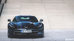 The 2014 Chevrolet Corvette Stingray. (Protze | Automotive Photography) Tags: life street city people urban cars chevrolet car photoshop germany volkswagen landscape photography mercedes benz town nikon europe european stingray 5 style ferrari adobe german mclaren porsche bmw motor editing mm 105 18 panning dsseldorf bugatti corvette lamborghini luxury supercar maserati motorsport supercars lightroom carphotography k knigsallee bently 2014 d90 cs6