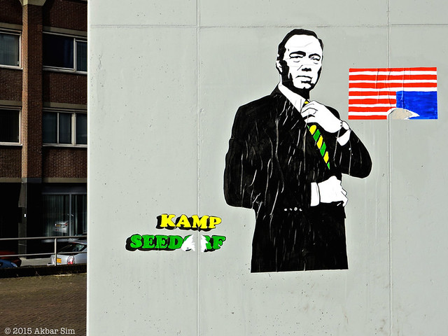 Den Haag: House of Cards (by Kamp Seedorf)