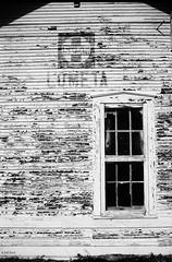 Lometa (Texas Track Car) Tags: railroad santafe window texas depot peelingpaint lometa atsf