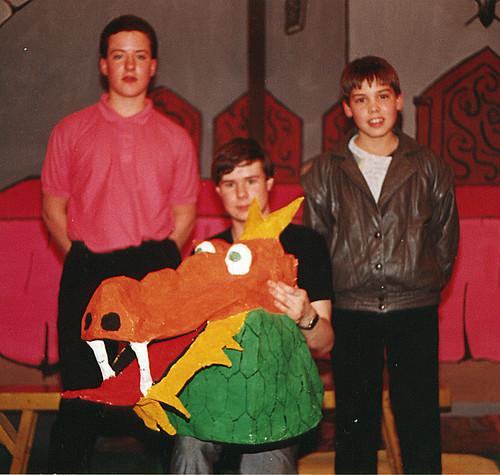 1989 Aladdin 01 (from left Mark Fielding, Mark Hampton, Richard Young Jr)