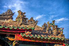 Rooftops (Ren Lok) Tags: buildings religion vietnam roofs temples