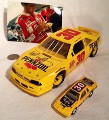 #5-46, Signed by Michael Waltrip NASCAR #30 Pennzoil, Revell, 1/24th scale Diecast Autographed With Picture Proof Photo (Picture Proof Autographs) Tags: pictures auto old history classic ford sports sport real toy toys promo model automobile image antique picture images collection grandprix 124 vehicles autograph photographs photograph collections nascar vehicle historical driver antiques autoracing autos collectible collectors thunderbird signing automobiles collectibles authentic sessions collector drivers tbird autographs dealer signed autographed genuine diecast signings winstoncup pontaic autographsession inperson 124th photoproof authenticated sprintcup authenticpictureproofphotoautographgenuineautoracingautographscarmodelsdiecastdiecastscale124124thautosnascar pictureproof