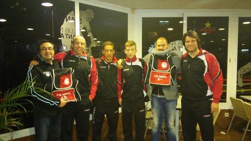 Gracias a Club San Andreu en especial a Cristobal y Alex