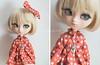 Teddy (AniredaDolls) Tags: bear orange cute girl doll dolls teddy lace pullip etsy poison poisongirl necklance dollcarousel