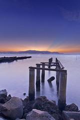 The Last Light (nadzli.azlan7) Tags: longexposure sunset sea landscape landscapes seascapes dusk sunsets waterscapes