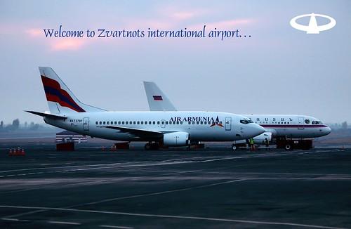 Welcome to Zvartnots...