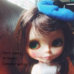 #GOODMORNING!!! #Smile coz its #TGIF 💛💙💜💚❤️ #love #vintage #blythe #doll #ブライス #happy #kennerblythe #TsilliGirls #sunnykissed #selfie (TOETY LIANG) Tags: love smile vintage happy doll blythe ブライス goodmorning tgif selfie kennerblythe tsilligirls sunnykissed