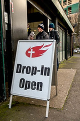 Soup Kitchen (www.socialissuesphotography.co.uk) Tags: poverty support homeless poor distress distressed starvation destitute deprivation deficit debt destitution difficulty bereft penniless hardship socialissues bankruptcy dropincentre austerity deficiency povertystricken hardup shortofcash impoverishment socialdeprivation shortofmoney unabletomakebothendsmeet