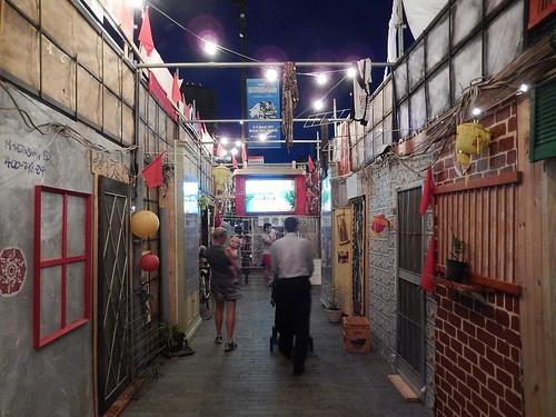 Mock Asian Street
