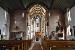 Jakobskirche (Francisco Anzola) Tags: church architecture germany bayern deutschland bavaria religion nuremberg altar christianity nürnberg