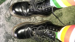 20160604_132002 (rugby#9) Tags: original black feet yellow socks boot shoe hole boots lace dr air 7 8 multicoloured icon wear size footwear stitching comfort sole doc cushion coloured soles dm docs eyelets drmartens bouncing airwair docmartens martens dms 8hole 1460 drmartensboots cushioned wair size7 doctormarten multicolouredsocks yellowstitching
