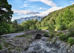 Ashness Bridge (mikedenton19) Tags: ashness bridge derwent water derwentwater stone river mountains keswick lake district nationalpark