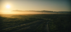 (aka0077) Tags: nature fog sunrise      d5100