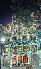 Casa Batllo (nejix) Tags: barcelona panorama casa spain walk gaudi hdr batllo battlo batlo