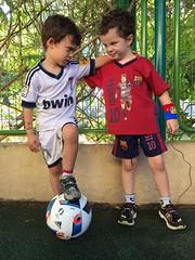 IMG_8273 (Dan_lazar) Tags: barcelona friends israel football cloths  yoav gan herzlia  classico    lazar almog