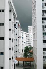 Serangoon, Singapore. 2016 (Mambo Ferido) Tags: sky building landscape singapore places hdb heavysky placesandfaces