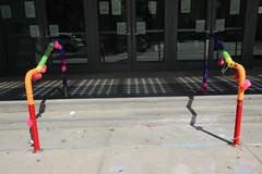 TQ-lowerman-4670 (teqmin) Tags: childrenssidewalkart respondingtoorlando pride colors bannister primaryschool