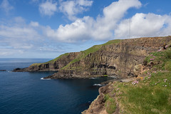 Green Cliffs (Aymeric Gouin) Tags: faroe faroeislands fro ilesfro froyar cliff falaise suuroy rock rocher green vert nature landscape paysage paisaje landschaft sea mer ocean atlantique atlantic seascape akraberg steep maritime olympus omd em10 aymgo aymericgouin europe northerneurope