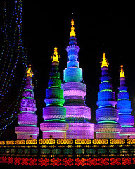 Chinese Lantern Festival (JC Loves U) Tags: festival night temple lights chinese coloredlights lantern