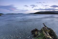 Loch Lomond Sunset (MatMat Brown) Tags: trossachs loch lomond landscape lake water scotland slow shutter sunset