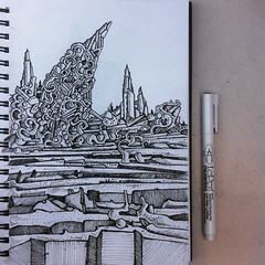 abstract landscape castle drawing (nikita_grabovskiy) Tags: pictures abstract black color art colors collage tattoo modern pen pencil print creativity design sketch cool artwork paint artist pattern arte image artistic drawing contemporary surrealism patterns paintings arts creative picture surreal drawings mandala images dessin tattoos peinture doodle zen artists painter prints doodles create draw crayon henna sketches dibujo couleur pintura artworks doodling artista tatuaje paining artiste mandalas tatouage lpiz           zentangle zentangles