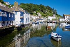 DSCF9100 (douglaswestcott) Tags: summer england english coast seaside cornwall village harbour coastal quaint polperro