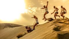 Time to jump (MPC.76) Tags: jump salto duna dune gay man men hombre home gran canaria playa del ingles jumping hairy