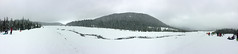 sledding at white river (dolanh) Tags: winter panorama snow renee whiteriver sledding snopark mthoodwilderness whiteriversnopark