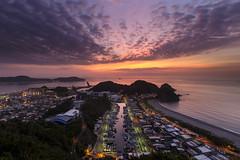 NanFangAo Port, Yilan, Taiwan _IMG_3490 (Len) Tags: port sunrise yilan  hy daybreak suao      nanfangao fishingport  blackcard       reversegnd