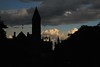 Albany City Hall in Silhouette_1298 (Prof Ryall) Tags: silhouette sunset albanycityhall albanyny