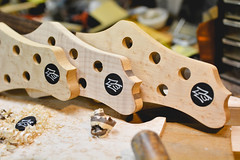 Progress (beezelite) Tags: nikon sigma woodwork guitarmaker craftsmanship ny customshop