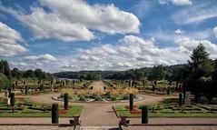 Italian Gardens in July (jeannie debs) Tags: tamron16300mmf3563diiivcpzdb016 canon 80d italian gardens flowers sky clouds lake july