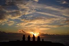 Ahu Tahai at sunset (christian_d1978) Tags: rapanui chile moais isladepascua puestadesol easterisland sunset