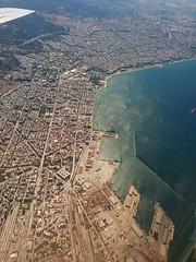 Thessaloniki, Greece (skumroffe) Tags: airplane aircraft plane flygplan window fnster thessaloniki greece grekland ellada hellas greekmacedonia macedonia mellerstamakedonien makedonien