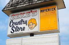 Zeke's Country Store (Cragin Spring) Tags: sign store grocery zekescountrystore zekes warren illinois il midwest smalltown warrenil warrenillinois unitedstates usa unitedstatesofamerica