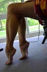 _DSC0026jj (ARDENT PHOTOGRAPHER) Tags: calves muscular female woman flexing skinny mature milf gilf highheels tiptoe