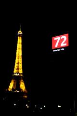 15 dias en Paris 68 (Ivn Ramrez) Tags: pars francia france ivanramirez canon 70d 2470 verano summer holidays 15 dias days ciudad city luz light loveparis eiffeltower torreeiffel 72 bus night nocturnal