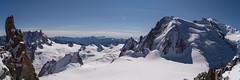 AdM_Panorama1 (::Krzysiek::) Tags: snow france alps top glacier summit chamonix alpy montblanc nieg aiguilledumidi lodowiec francja szczyt highmountains 3842 cosmique artedescosmiques alpigraie lodowce alpesgres rodanalpy poudniowaiglica alpygraickie igapoudnia