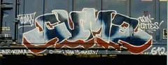 kuma05 (oldschooltwincitiesgraffiti) Tags: street art minnesota train graffiti midwest paint stpaul minneapolis tags spray mpls spraypaint twincities graff aerosol mn freight kuma stp cuma