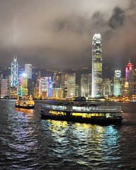 _DSC2452 (the.bryce) Tags: ferry night hongkong starferry victoriaharbour hongkongbay