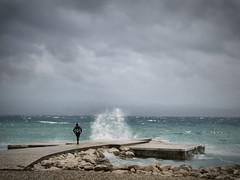 Jugo (bilusickr) Tags: sea waves wind croatia wave windy split watter hrvatska jugo dalmatia dalmacija