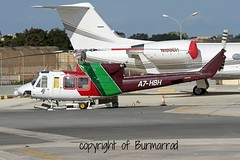 A7-HBH LMML 04-12-2014 (Burmarrad) Tags: cn gulf bell aircraft airline helicopters registration 36326 412ep lmml 04122014 a7hbh
