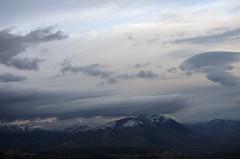 Monte Guadagnolo (SS) Tags: winter sky italy snow clouds landscape view pentax lazio k5 guadagnolo montisimbruini ss