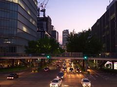 Sakuradori Avenue, Nagoya (Ryo_052) Tags: street japan nightscape nagoya nightview avenue gh3 sakuradori dmcgh3