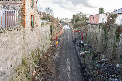 LUAS CROSSCITY - OLD BROADSTONE RAILWAY CUTTING REF-101634