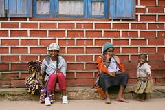 Tourist trinket vendors in Ambositra.